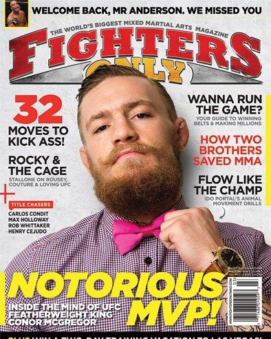 """3 Likes, 1 Comments - Conor McGregor  (@kingmcgregorfans) on Instagram: """"Make sure you guy pick up a copy of @fightersonly to see a full interview with me inside…"""""""