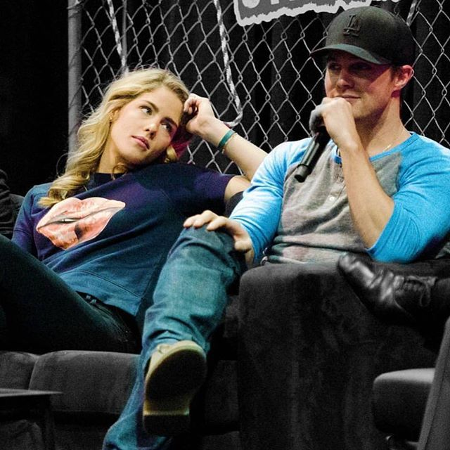 Emily Bett Rickards & Stephen Amell | Arrow