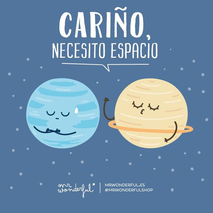 Necesito espacio #Mr.Wonderful #compartirvideos #postalesdeamor