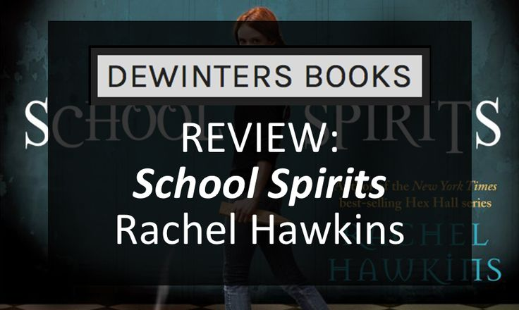 "#YAFriday Book Review: ""School Spirits"" by Rachel Hawkins.  For a young adult book, it had everything I could wish for: Ghosts! Female friendship! Warlocks trapped in mirrors!"