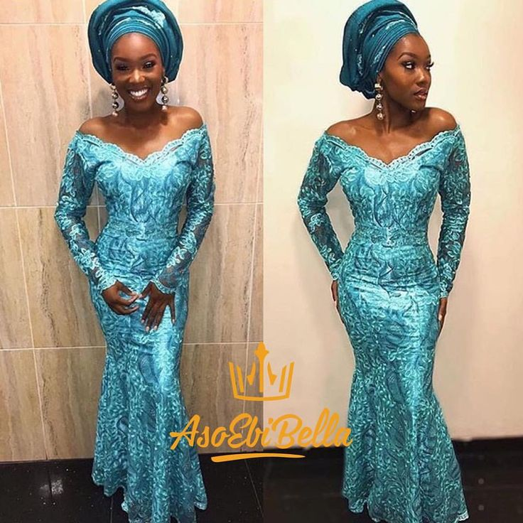 "45 Likes, 1 Comments - Aso Ebi Styles (@asoebibella) on Instagram: ""Too fab to handle!👸🏽💚✨ AsoEbiBella.com presents - The Latest Aso Ebi Styles - Vol.214 / Click link…"""