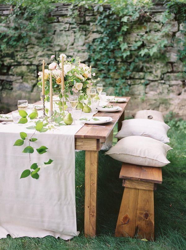 Intimate Summer Wedding Inspiration