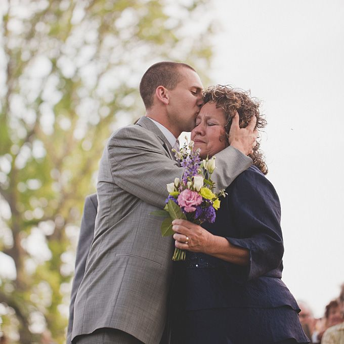 A little mother and son moment. Photo by Ryan Price Photography.