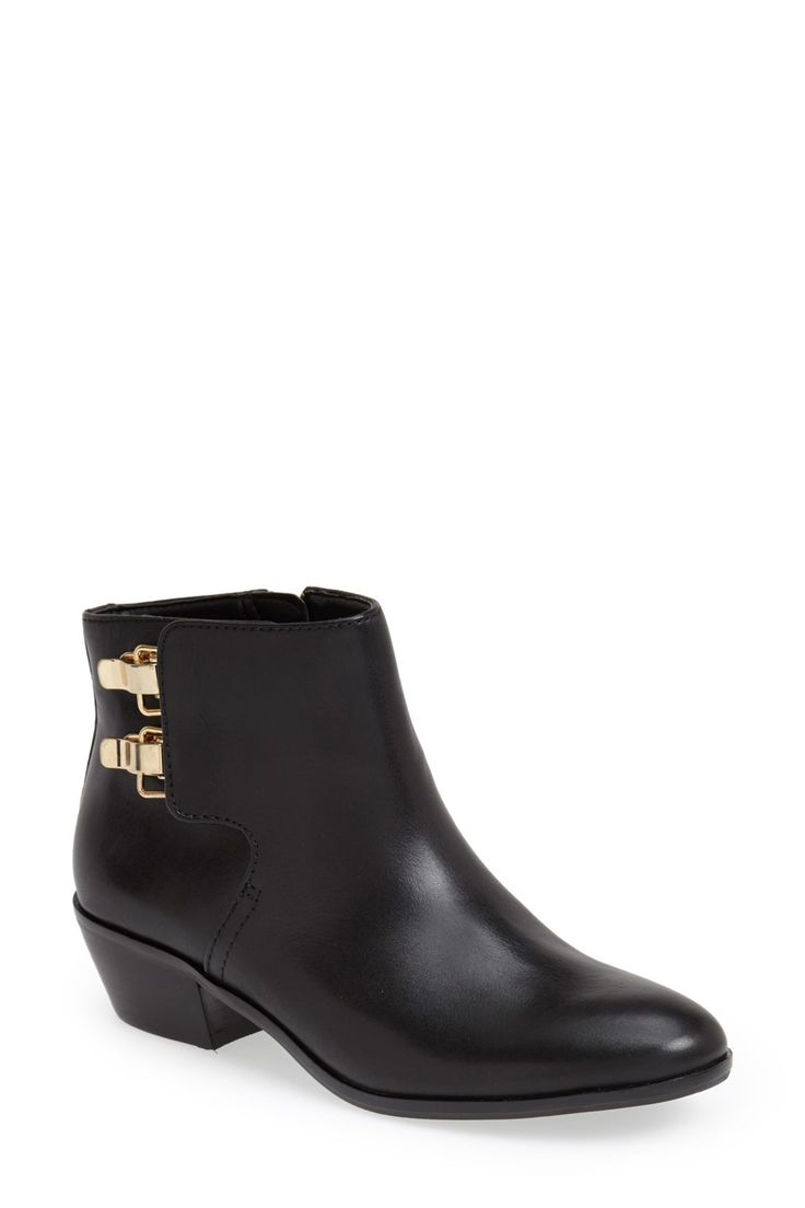 Sam Edelman | Peter Leather Bootie | Nordstrom Rack  Sponsored by Nordstrom Rack.