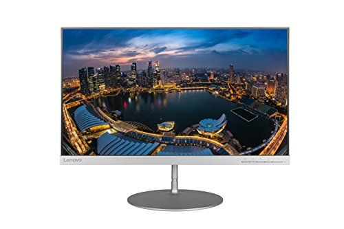 "Lenovo 65D2GCC3US LED-Lit Monitor 23.8"":   Experience a vibrant digital display with this 23.8-inch Lenovo monitor. Its QHD resolution is four times the pixel count of HD for increased detail and clarity when viewing photos and text, and its 4 ms response time ensures movies play smoothly. This Lenovo monitor has an HDMI input and a display port for flexibility with connecting external devices."