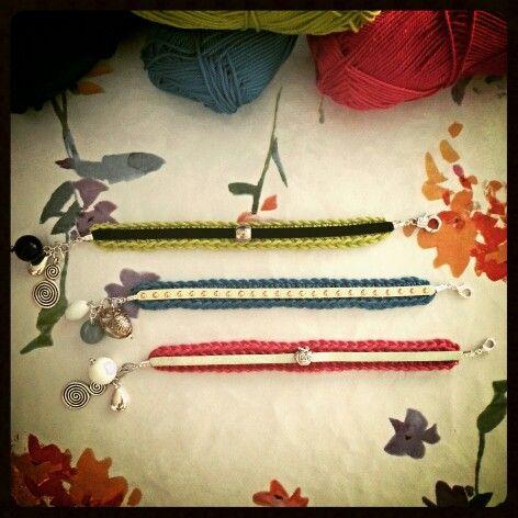 bracelets crochet