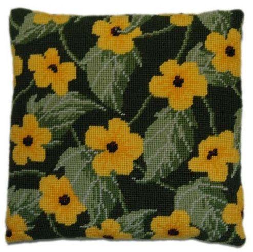 Black Eyed Susan Herb Pillow Tapestry kit