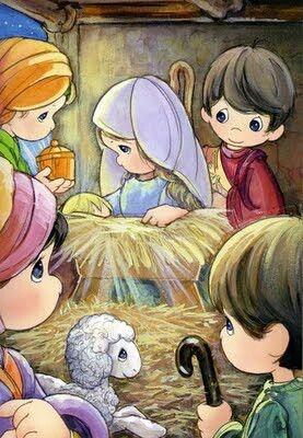Lucas 2:11-12 que os ha nacido hoy, en la ciudad de David, un Salvador, que es CRISTO el Señor. Esto os servirá de señal: Hallaréis al niño envuelto en pañales, acostado en un pesebre.♔