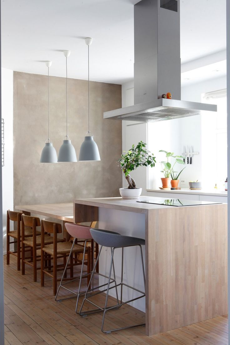 Kitchen and dining table in one