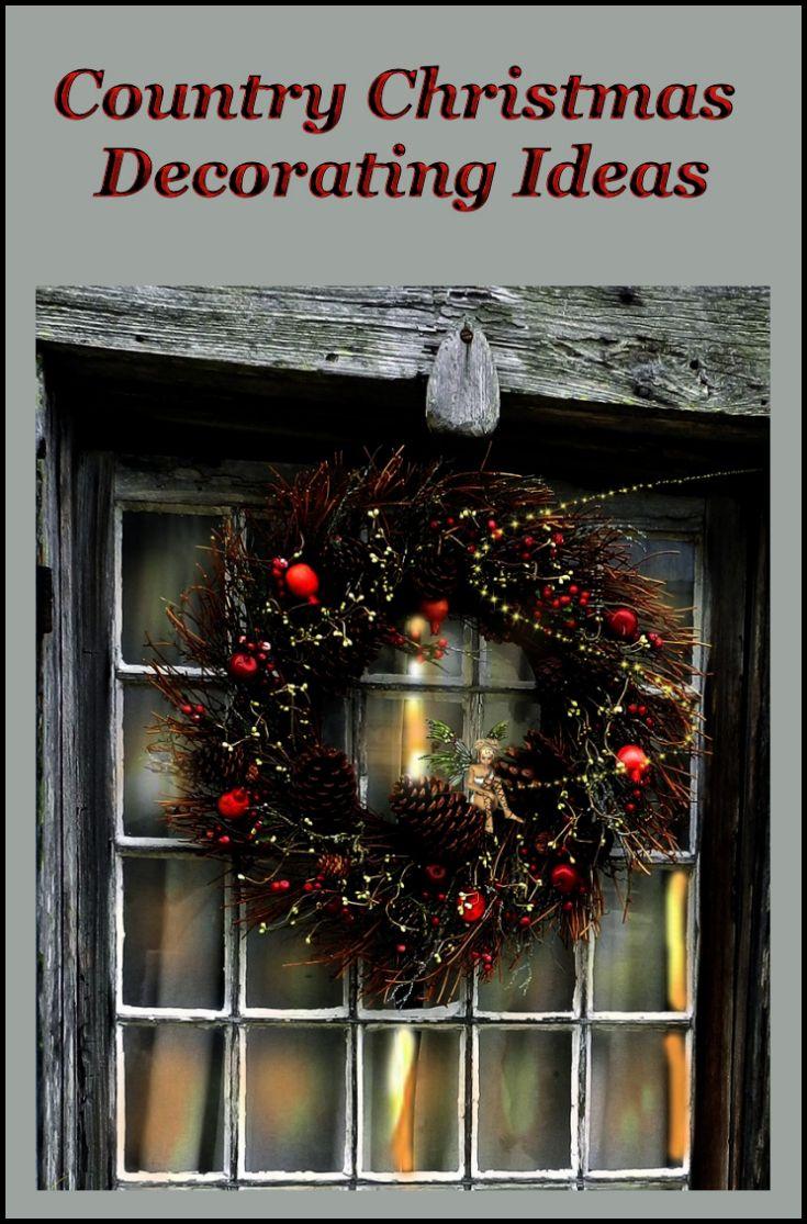 Country christmas mantel decor - Christmas Home Decorating Fun