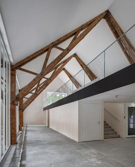 Hammergut by EM2N. Estructura de madera