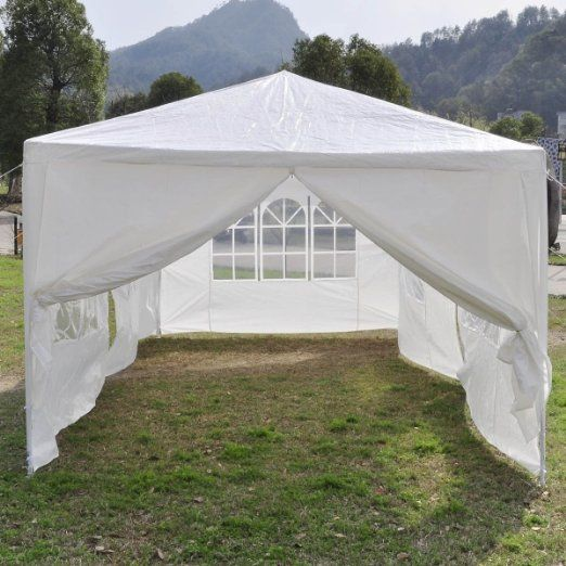Convenient 10 x 20 White Party Tent Canopy - Simple Quick u0026 Easy to use & 8 best Canopy tent party images on Pinterest | Canopies Shade ...