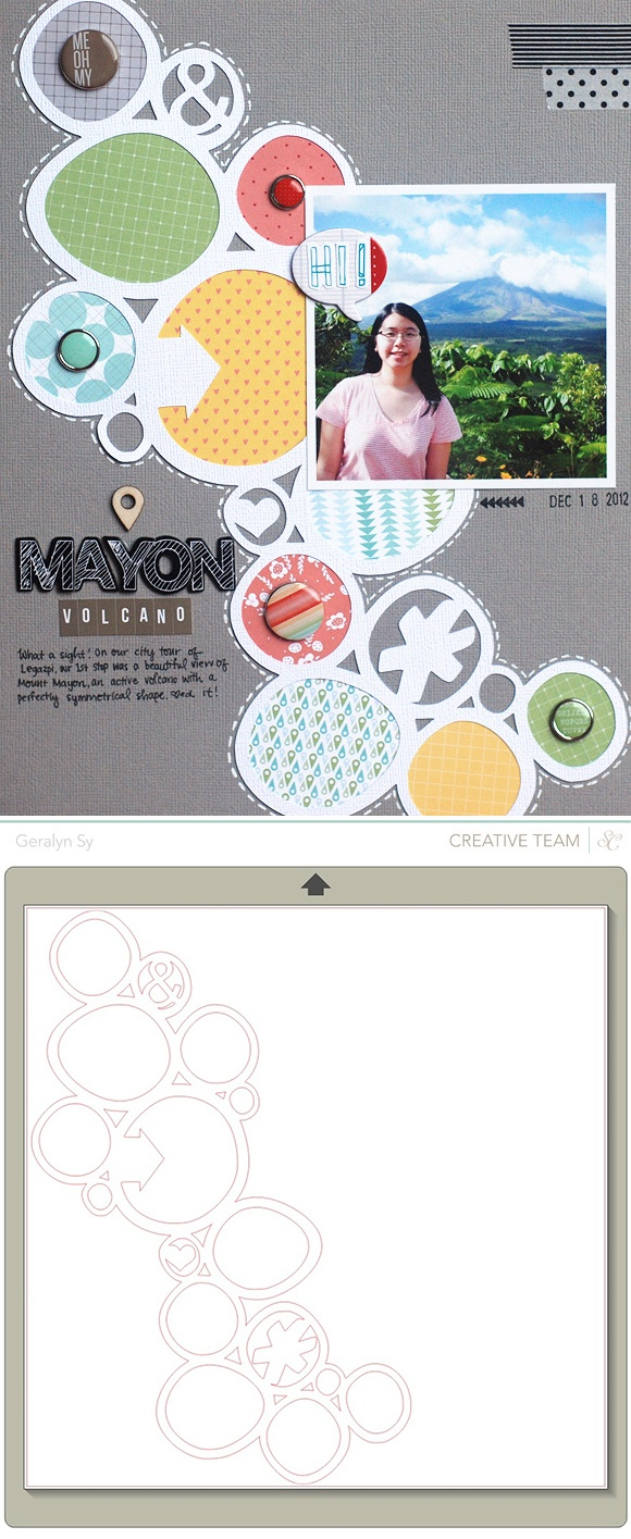 Free 'Wonky Circles' Silhouette studio cutting file by Geralyn