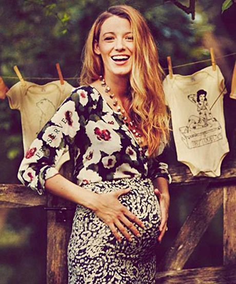 Blake Lively Documents Perfect Autumnal-Themed Baby Shower For Preserve #refinery29 http://www.refinery29.com/2014/10/76072/blake-lively-baby-shower-photo
