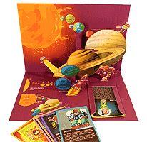 Bouwplaat zonnestelsel. free download / Découpage carte du Système Solaire pour enfants