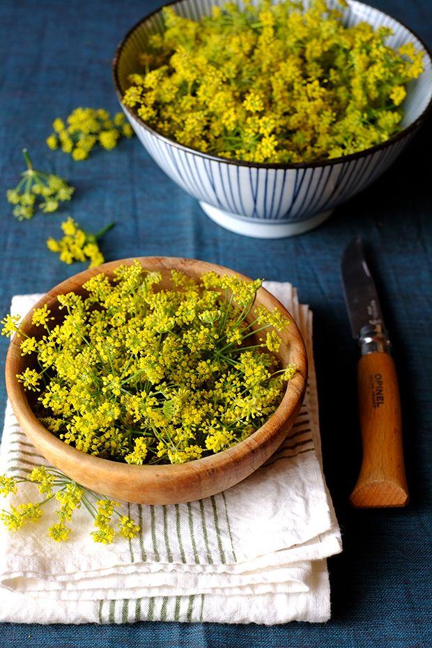 Fiori di finocchietto selvatico sott'aceto - GranoSalis - Blog di cucina naturale e consapevole