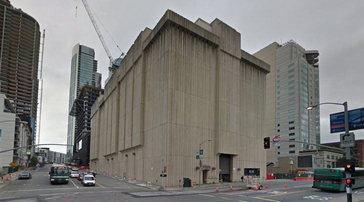 Pacific Gas and Electric Company - 1973 by Sidney Smyth - #architecture #googlestreetview #googlemaps #googlestreet #usa #sanfrancisco #brutalism #modernism