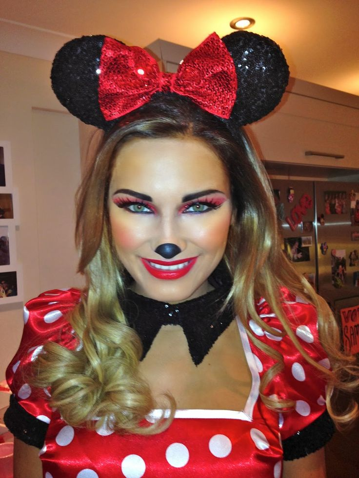 Makeup by Ashley: Sam Faiers Disney birthday party - Minnie Mouse