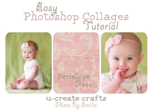 Easy Photoshop Collage Tutorial.: Photo Collage, Photoshop Elements, Cute Baby, Collage Templates, Easy Photoshop, Collage Tutorials, Photoshop Editing, Collage Ideas, Photoshop Collage
