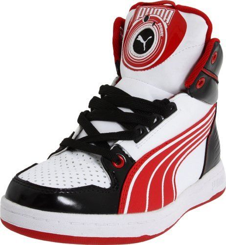 Puma DJ B Fashion Sneaker (Little Kid/Big Kid) Puma. $41.31. Sensors on outsole make music. mini usb provided to recharge. synthetic. Non-marking outsole. Rubber sole