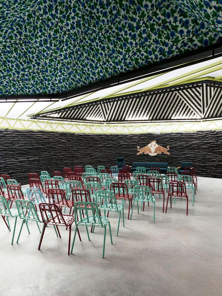 nnmprv:  Red Bull Music Academy - Nave de la Música en Matadero Madrid by Langarita-Navarro Arquitectos.