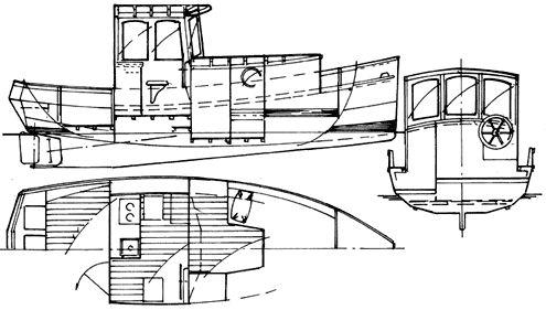 22' Rufus Motor Cruiser