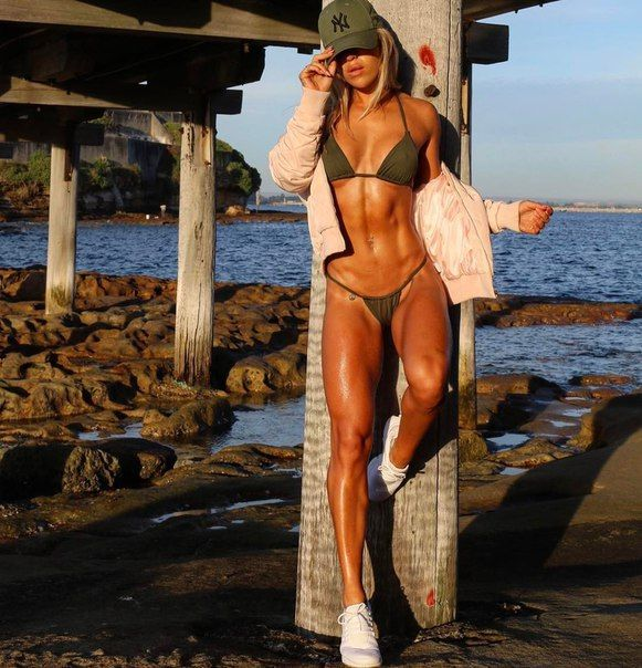 #Fitness #Girls on the beach
