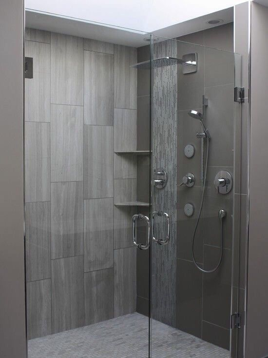 Photo of United Team Tile & Stone - Los Angeles, CA, United States. Modern 12*24 layed vertically