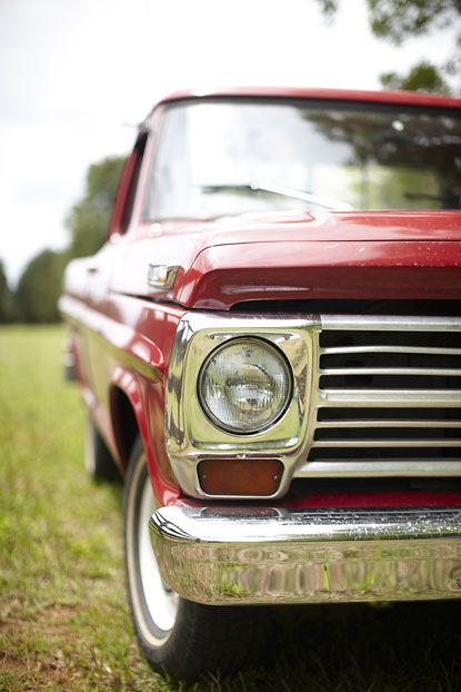 Dream truck.  1969 Ford F100.  Doesn't have to be red but I'll take it.
