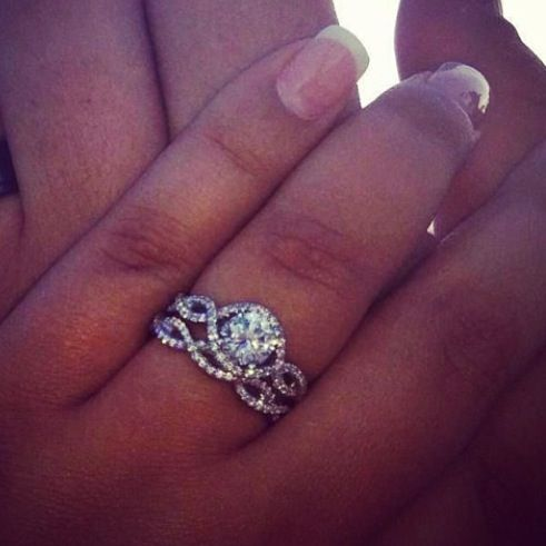 25 best ideas about infinity ring engagement on