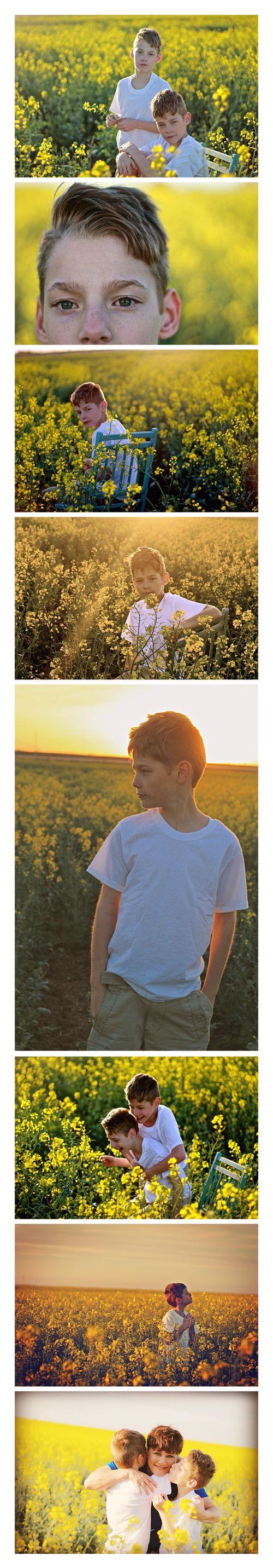 Canola field/ sunset shoot.