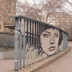 Anamorphic - street art