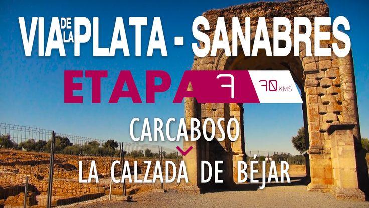 Carcaboso-La Calzada de Béjar. Etapa muy completa tanto por el trazado recorrido, su calidad en cuanto a vestigios históricos como la ciudad de Cáparra, los Baños de Montemayor y, por supuesto, la compañía de otros ciclistas.