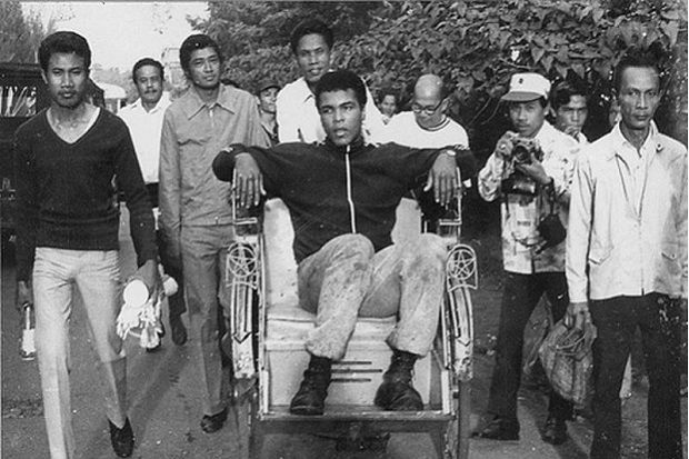 First impression of Muhammad Ali to Indonesia: Unique Country