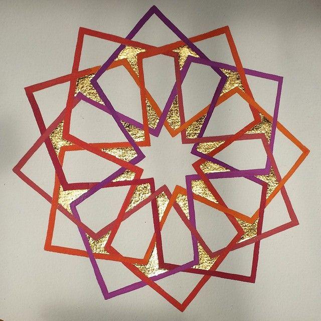 Illumination and geometry in islamic art