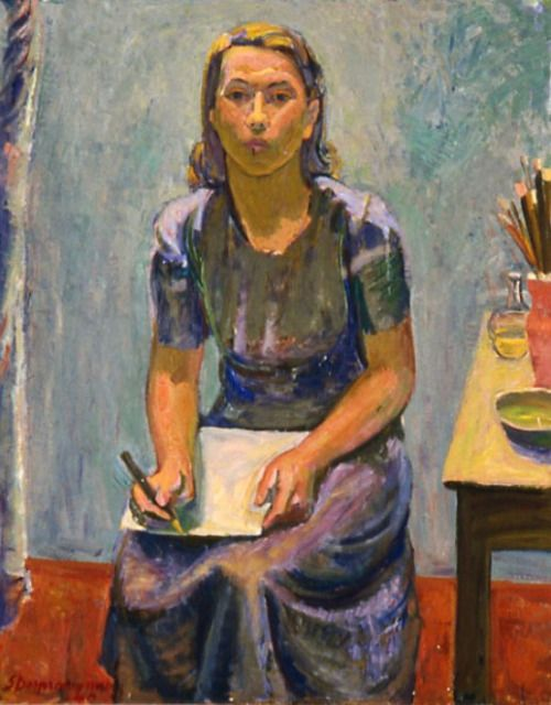 Sam Vanni: Portrait of Tove Jansson, 1940