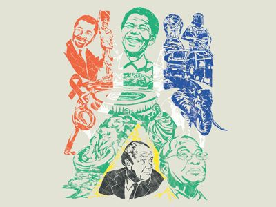 1994-2014: 20 Years of South African Democracy by Tim Bauer