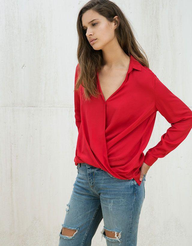 Chemises - FEMME - FEMME - Bershka Maroc