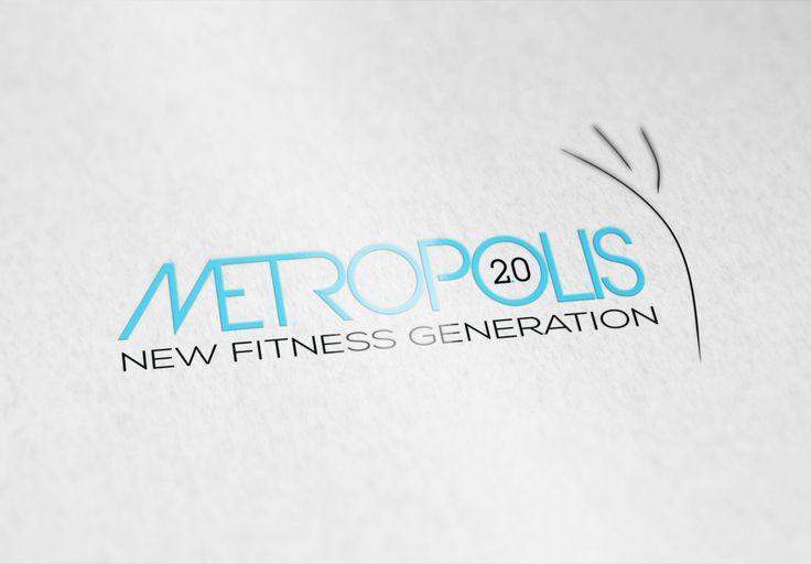 "Logo gym ""Metropolis 2.0""    #graphicdesign #logo #gym #metropolis"