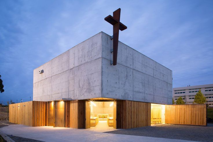 San Alberto Magno Chapel / Juan Pavez Aguilar + José Requesens Aldea
