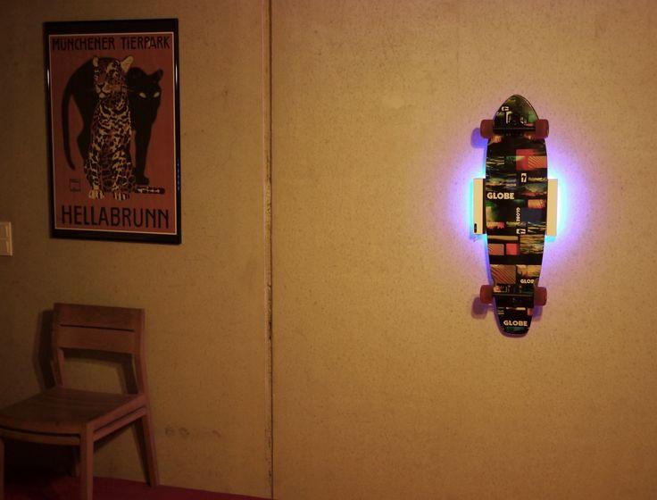 Wall Mount Clipboart Wandhalterung für Longboards