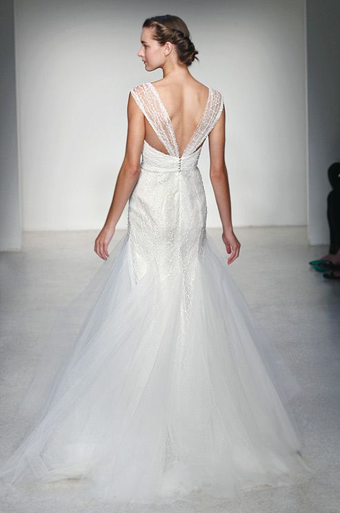 Christos Stella Back Wedding Dress TrendsWedding DresssesWedding