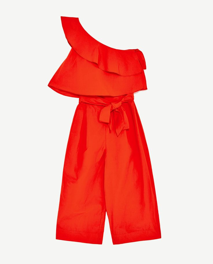 Image 8 of FRILLED JUMPSUIT from Zara