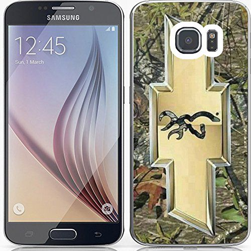 Buy camo browning deer Chevy logo with a deer on the inside for Samsung Galaxy S7 White RUBBER NEW for 2.38 USD | Reusell