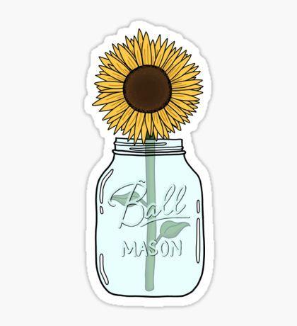 Sunflower Pegatina
