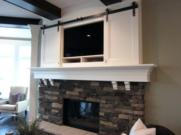 Wall Mount Tv Cable Box Solutions Interior Mount Above Ideas Cable Box Pictures Too High Solutions Wood Fireplace Surrounds Fireplace Design Tv Above Fireplace