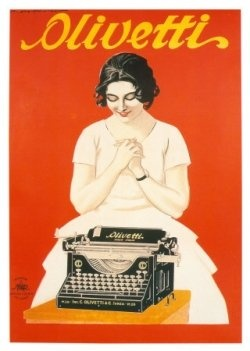 My first child shall be named Olivetti Royal Corona Maloney. Just because typewriters are awesome!