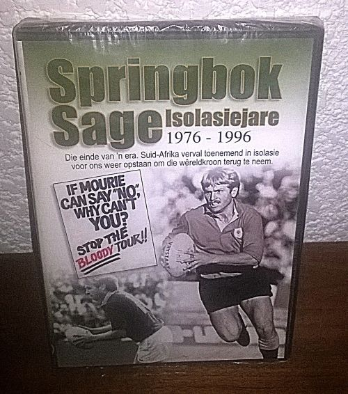 Buy DVD. Springbok Sage isolasiejare. 1976 - 1996for R51.00