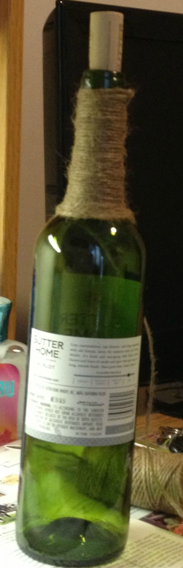 Feeling Creative? DIY Wine Bottle Craft (Step By Step Instructions)   Her Campus