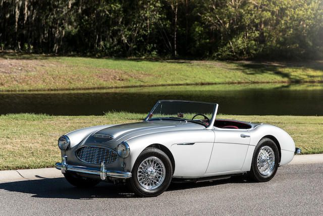 <b>1960 Austin-Healey 3000 MKI BN7 Two-Seater</b><br />Chassis no. H-BN7-L/1780<br />Engine no. 29D-RU-H/12507